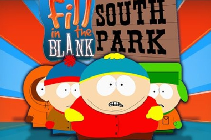 South Park Fill In The Blank Game