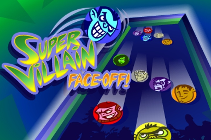 Kim Possible Super Villain Face-Off Game