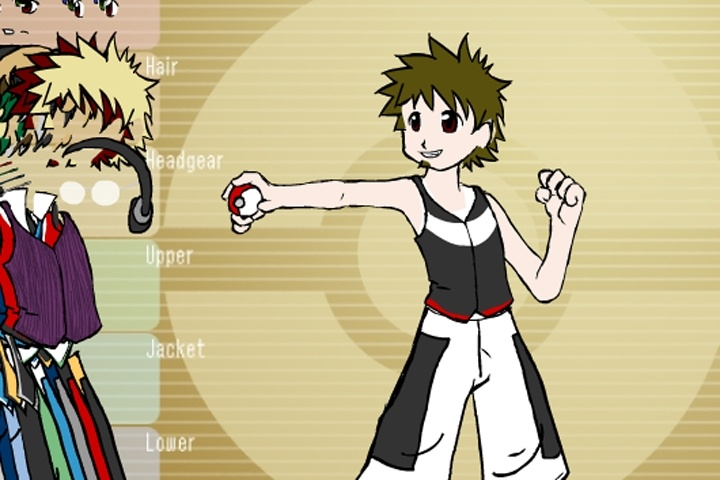 Pokemon Style Dress Up Game