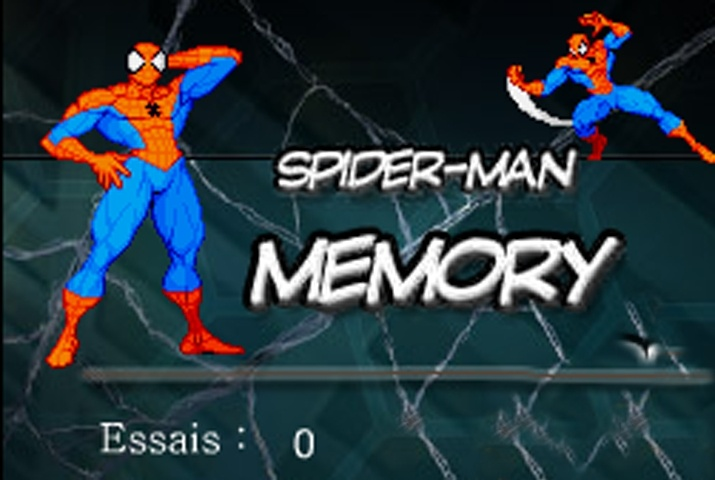 Spiderman Memory Game