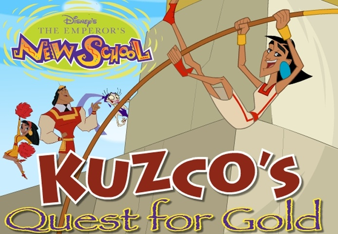 Kuzko Quest For Gold Game