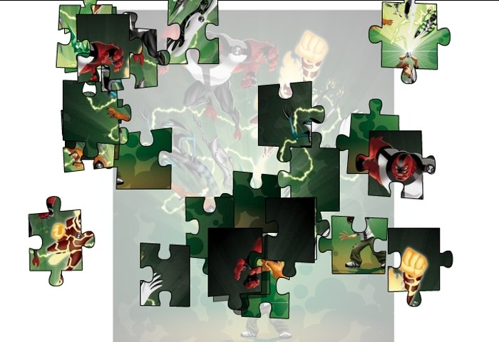 Ben10 All Force Jigsaw Puzzle 1 Game