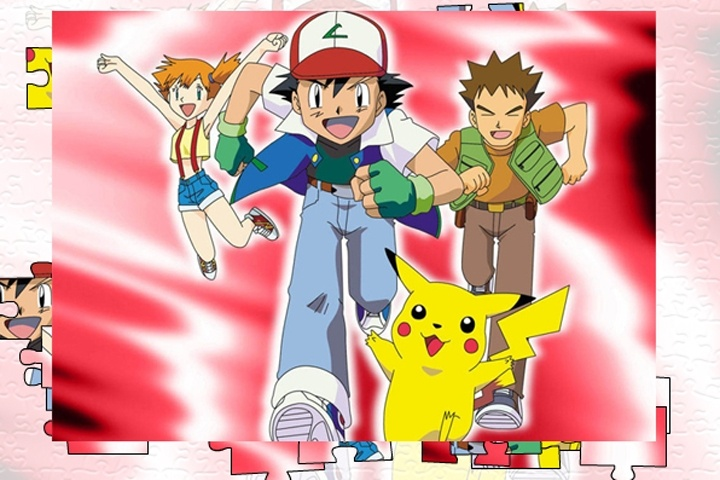 Pokemon Jigsaw 4 Game
