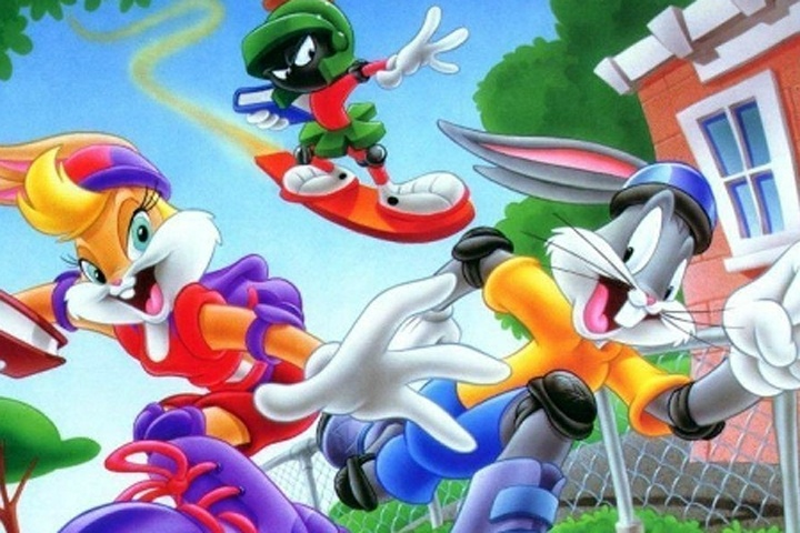Go To School Bugs Bunny Puzzle Game