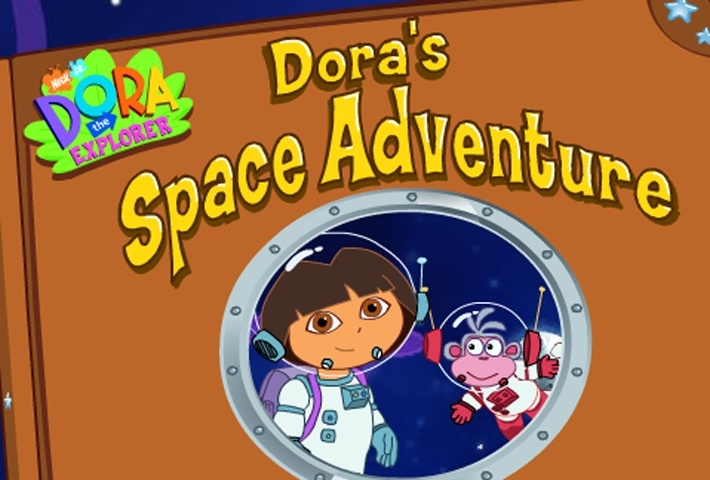Dora The Explorer Dora's Space Adventure Game