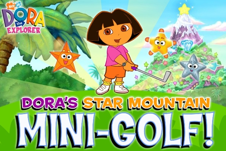 Dora The Eplorer Dora's Star Mountain Mini-Golf Game