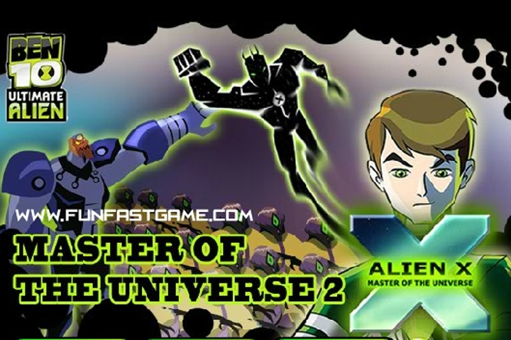 Ben 10 Alien X Master Of The Universe 2 Game