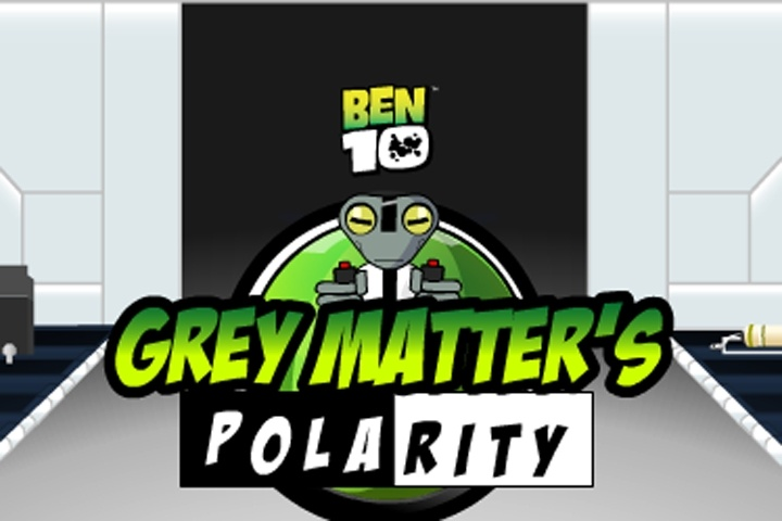 Ben 10 Grey Matters Polarity Game