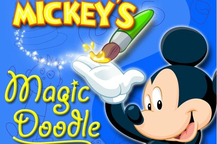 Mickey's Magic Doodle Game