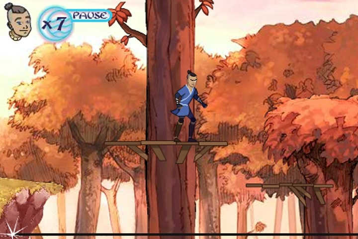 Avatar Treetop Trouble Game