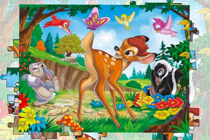 Bambi Jigsaw Game