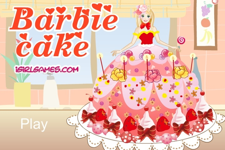 Barbie Cake Game