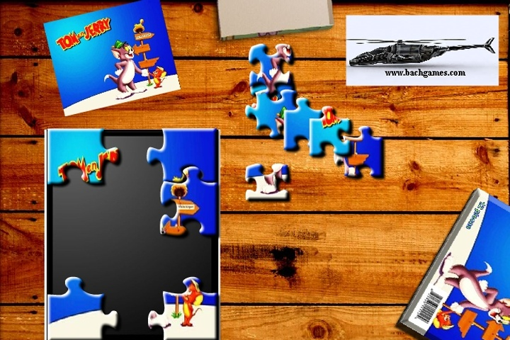 tom and jerry puzzle games free online