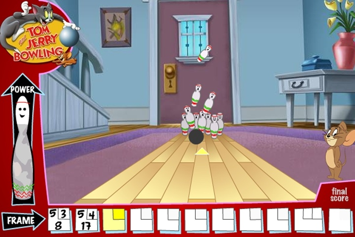 tom and jerry bowling game tom amp jerry games games loon