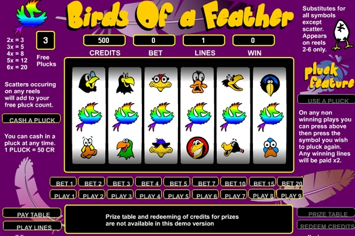 Birds Of A Feather Slots Game