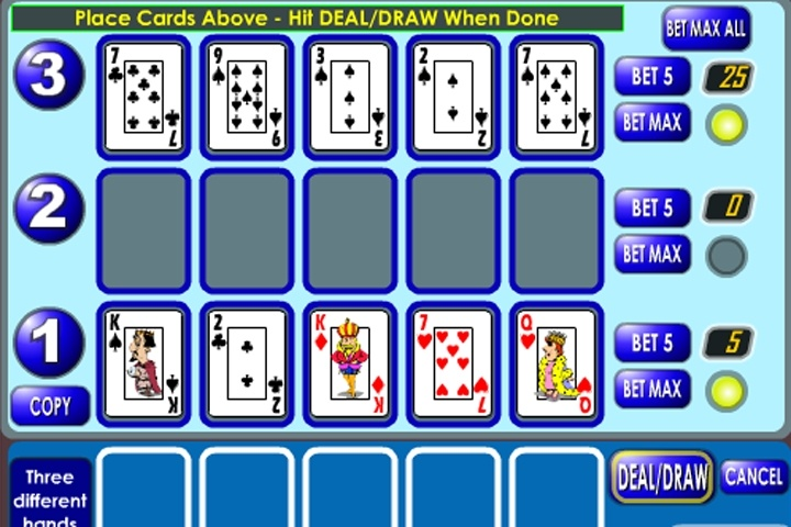 2 player poker games free online