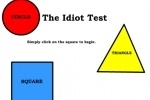 Idiot Test game free online