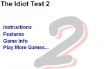 Idiot Test 2 game free online