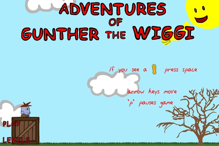 Adventures of Gunther The Wiggi Game