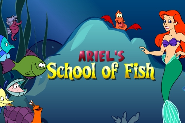 Ariel's School Of Fish Game