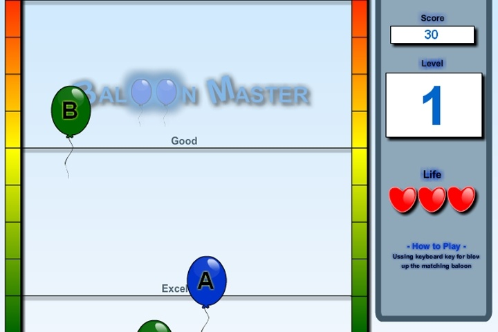 Balloon Master Game