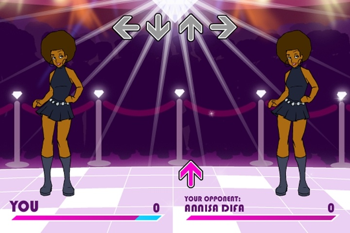 Diamond Disco Dance Off Game
