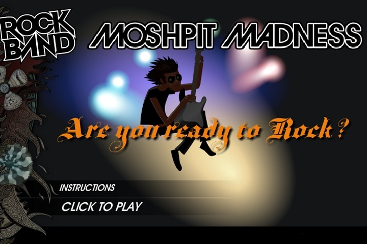 Rock Band Moshpit Madness Game