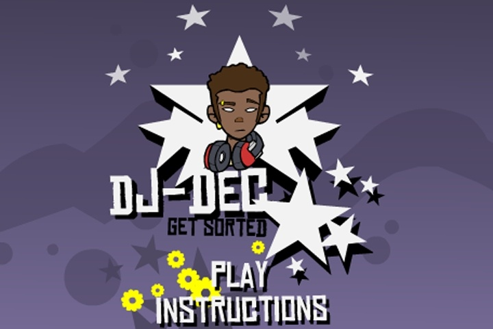 DJ Dec Get Sorted Game