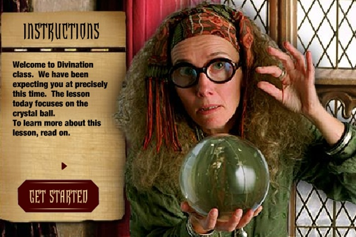 Harry Potter Divination Class Game Harry Potter Games