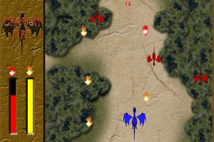 Dragon Fire Game