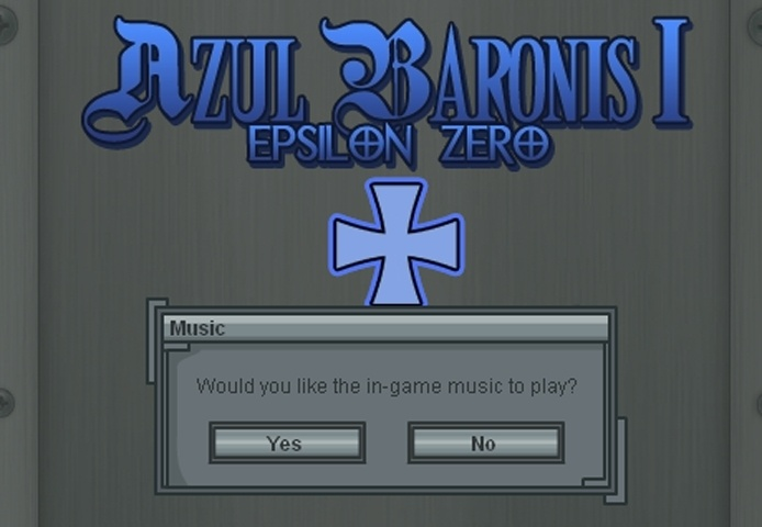 Azul Baronis - Epsilon Zero Game