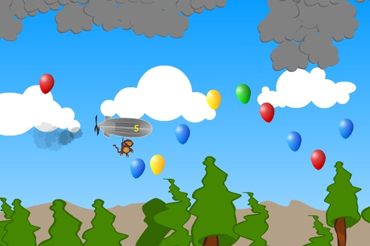 Hot Air Bloon Game