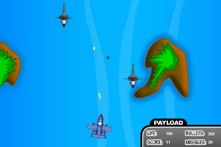 Aerial Battle Game
