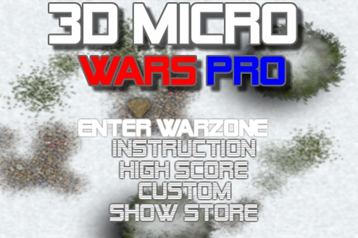 3d Micro Wars Pro 2 Game