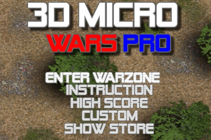 3d Micro Wars Pro 1 Game