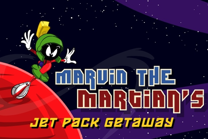 Marvin the Martian's Jet Pack Getaway Game