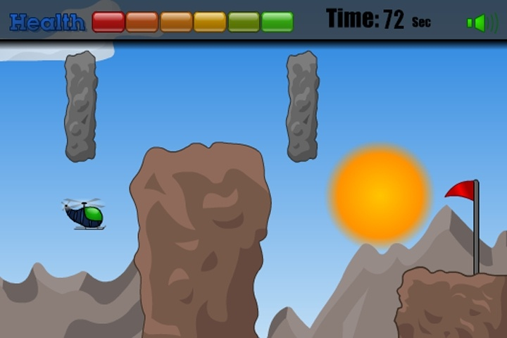 Bump Copter Game