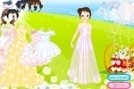 Dreamlike Wedding Dresses Dress Up game free online