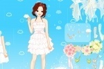 Heavenly Wedding Dress Up game free online