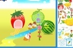 Fruit Fantasy Garden Decoration game free online