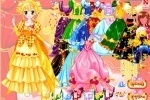 Royal Colors Of Princess Dresses game free online