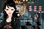 Girl In Black Makeover game free online