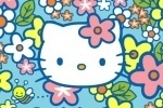 Hello Kitty Bees In My Garden game free online