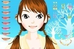 Help Make Up On Young Girl game free online