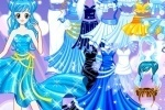 Little Blue Princess Dress Up game free online