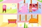 Big Pink Dollhouse Decoration game free online