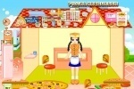 Pizza & Hamburger Shop Decorating game free online