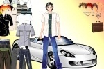 Cool Car Dude Dress Up game free online
