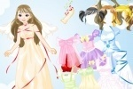 Become An Angel Dress Up game free online