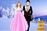 Wedding In Snow Country Dress Up game free online